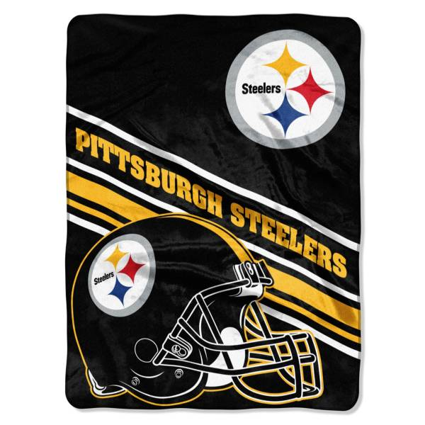 Pittsburgh Steelers 60'' x 80'' Slant Raschel product image