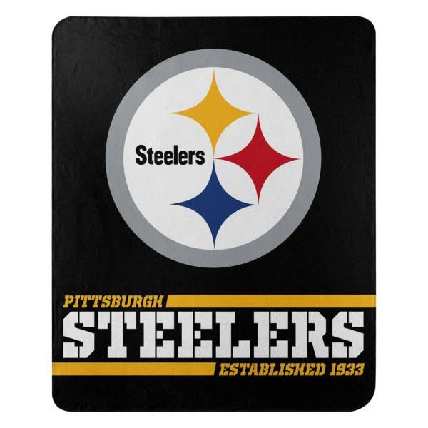 Northwest Pittsburgh Steelers 50'' x 60'' Split Wide Fleece Blanket product image