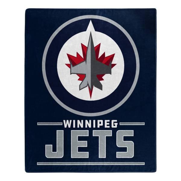 Winnipeg Jets 50'' x 60'' Interference Raschel product image