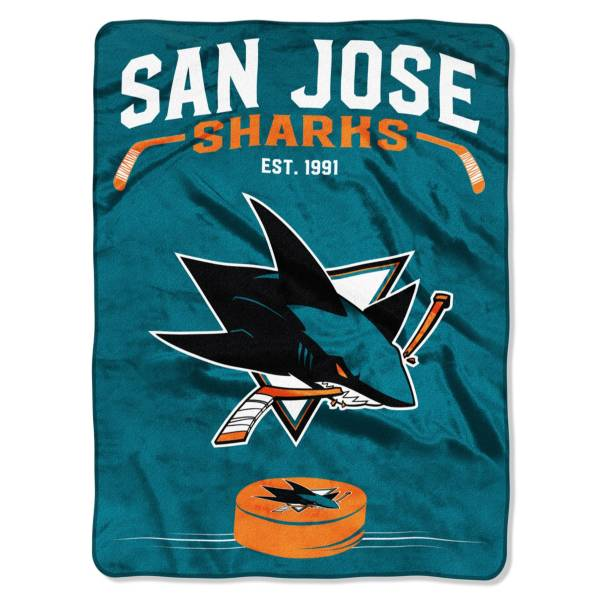 San Jose Sharks 60'' x 80'' Inspired Raschel product image