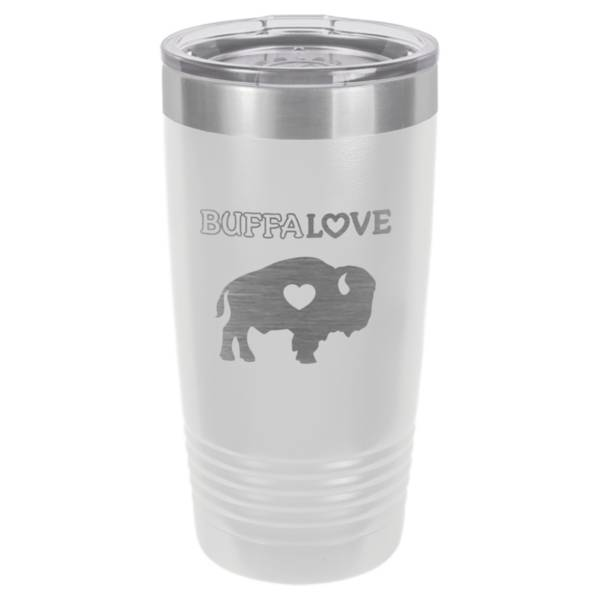 BuffaLove White 20oz. Tumbler product image