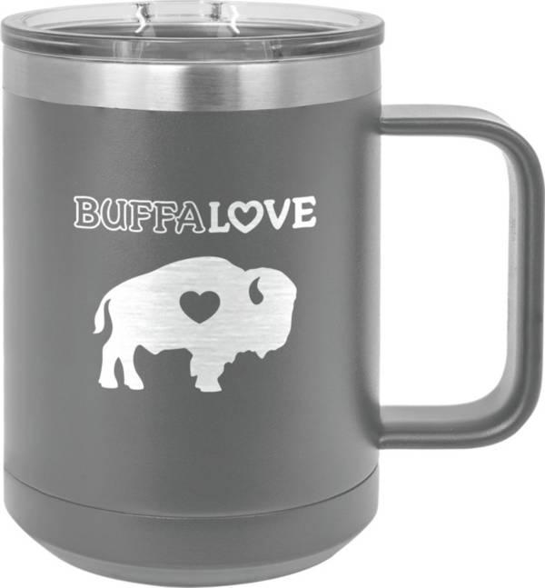 BuffaLove Grey 15oz. Stainless Mug product image