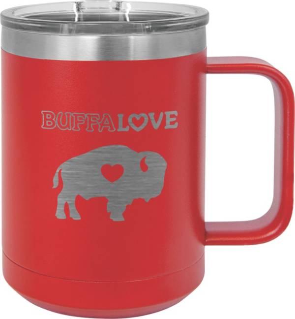 Buffalove Red 15oz Stainless Mug product image