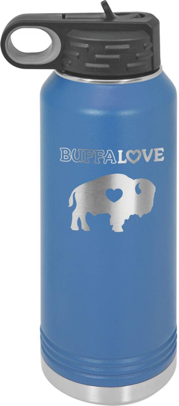 BuffaLove Royal 32oz. Stainless Steel Water Bottle product image