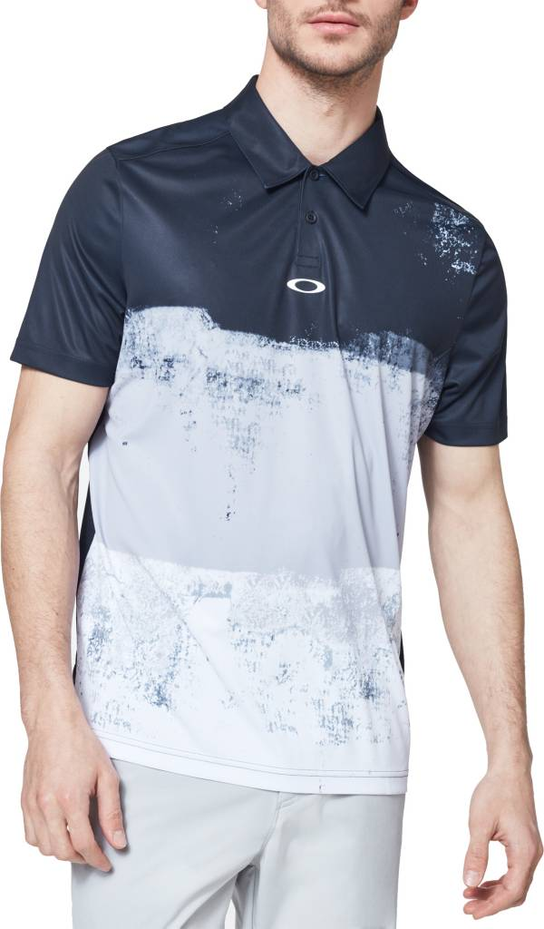 Oakley Men's Color Block Shade Golf Polo Shirt product image
