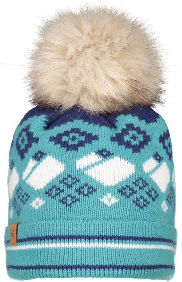 Obermeyer Women's Durango Faux Fur Pom Beanie product image
