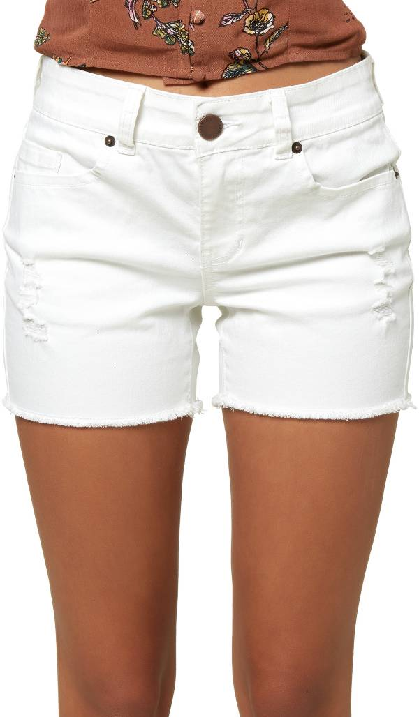 O'Neill Women's Cody White Denim Shorts product image