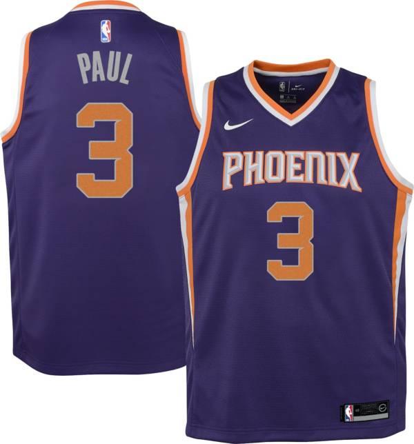 Nike Youth Phoenix Suns Chris Paul #3 Purple Dri-FIT Swingman Jersey product image