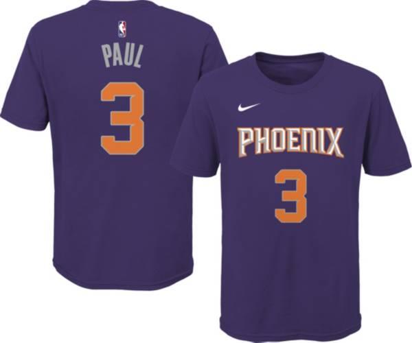 Nike Youth Phoenix Suns Chris Paul #3 Purple Cotton T-Shirt product image