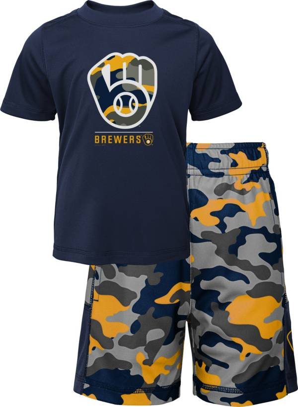 Gen2 Youth 4-7 Milwaukee Brewers Navy Major Set product image