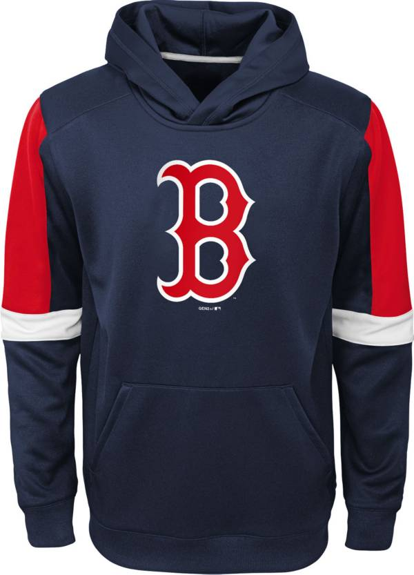 Gen2 Youth Boston Red Sox Navy Base Up Pullover Hoodie product image