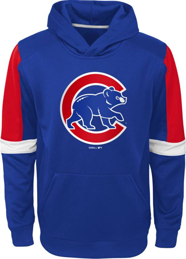 Gen2 Youth Chicago Cubs Blue Base Up Pullover Hoodie product image