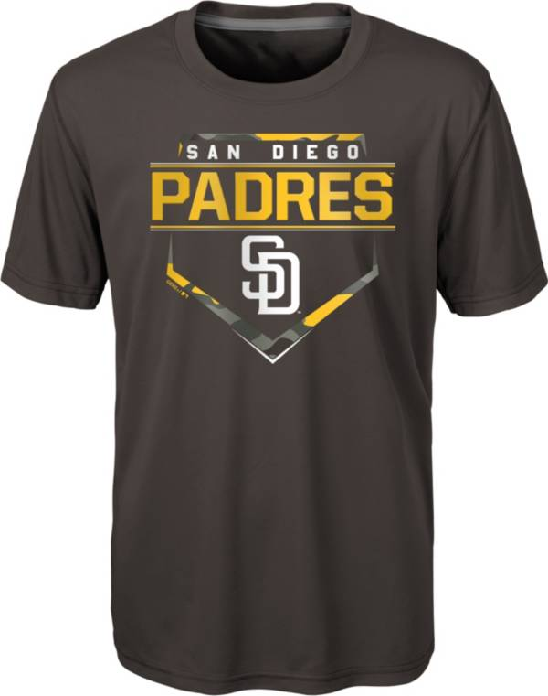 Gen2 Youth 4-7 San Diego Padres Brown Eat My Dust T-Shirt product image