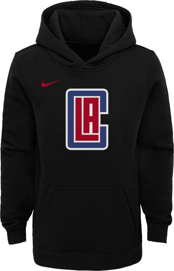 Nike Youth Los Angeles Clippers Black Logo Hoodie product image