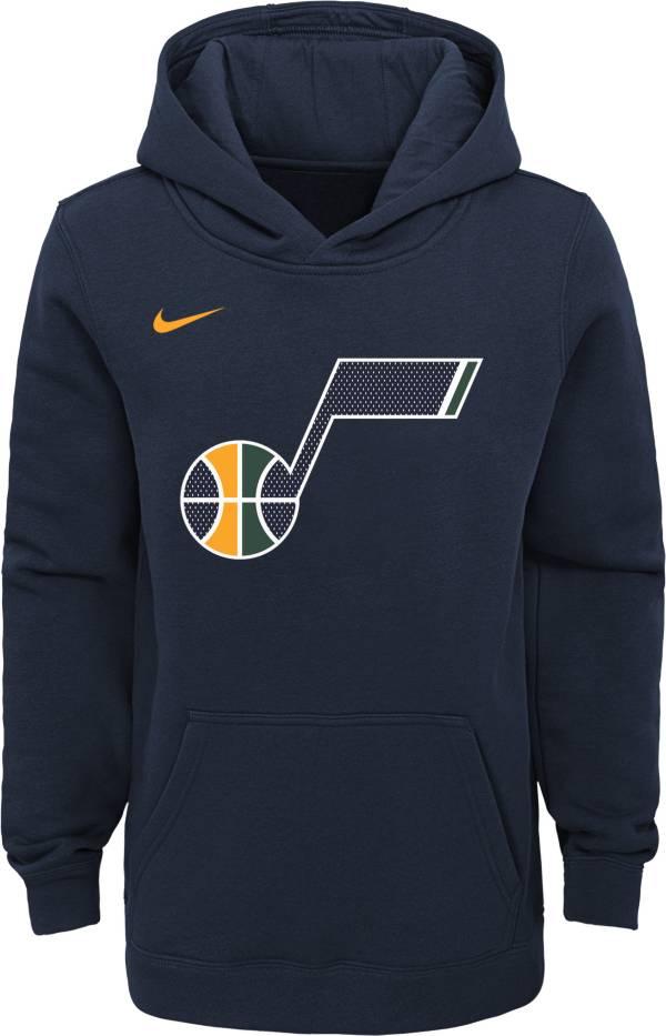 Nike Youth Utah Jazz Navy Logo Hoodie product image
