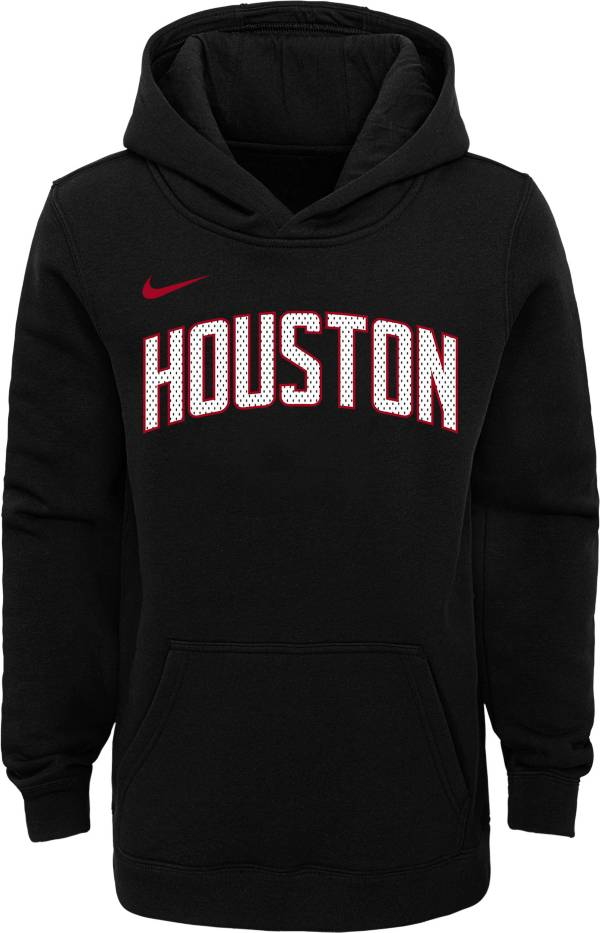 Nike Youth Houston Rockets Black Statement Hoodie product image