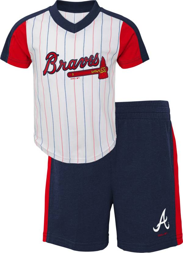 Gen2 Youth Toddler Atlanta Braves Navy Line Up Set product image