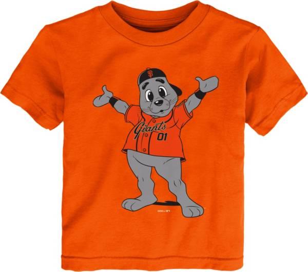 Gen2 Youth Toddler San Francisco Giants Orange Mascot T-Shirt product image