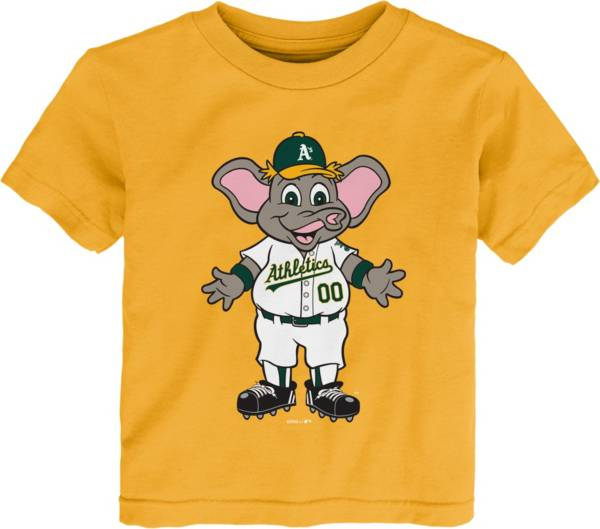 Gen2 Youth Toddler Oakland Athletics Gold Mascot T-Shirt product image