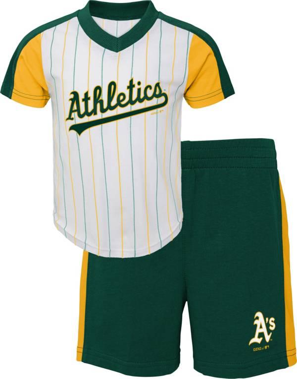Gen2 Youth Toddler Oakland Athletics Green Line Up Set product image
