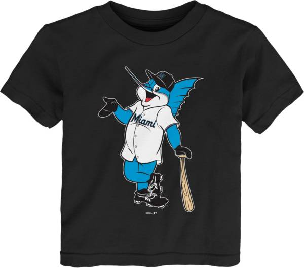 Gen2 Youth Toddler Miami Marlins Black Mascot T-Shirt product image
