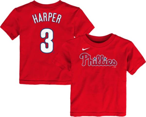 Nike Youth Toddler Philadelphia Phillies Bryce Harper #3 Red T-Shirt product image