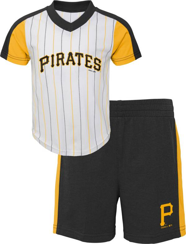 Gen2 Youth Toddler Pittsburgh Pirates Black Line Up Set product image