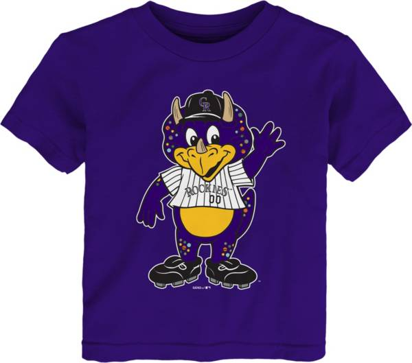 Gen2 Youth Toddler Colorado Rockies Purple Mascot T-Shirt product image