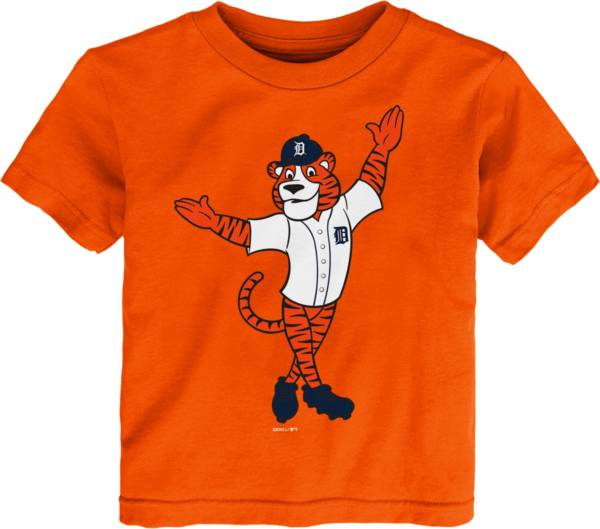Gen2 Youth Toddler Detroit Tigers Orange Mascot T-Shirt product image