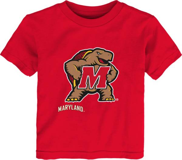 Outerstuff Youth Toddler Maryland Terrapins Red Mascot T-Shirt product image