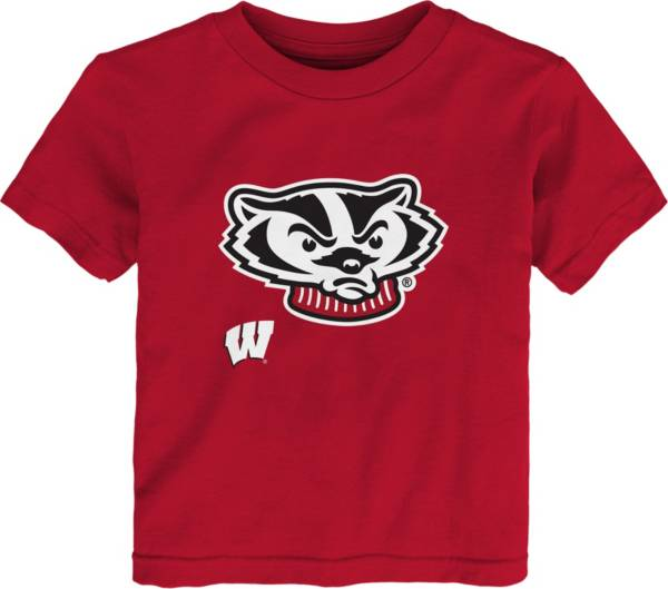 Outerstuff Youth Toddler Wisconsin Badgers Red Mascot T-Shirt product image