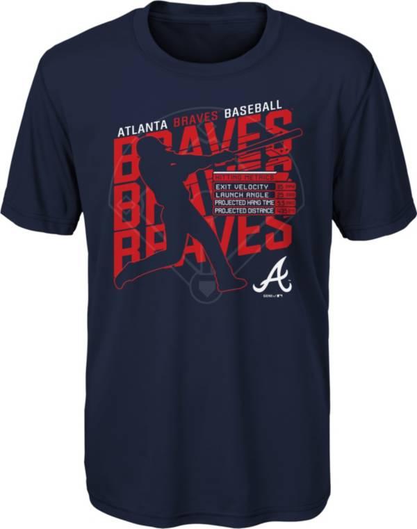 Gen2 Youth Atlanta Braves Navy Matrix T-Shirt product image