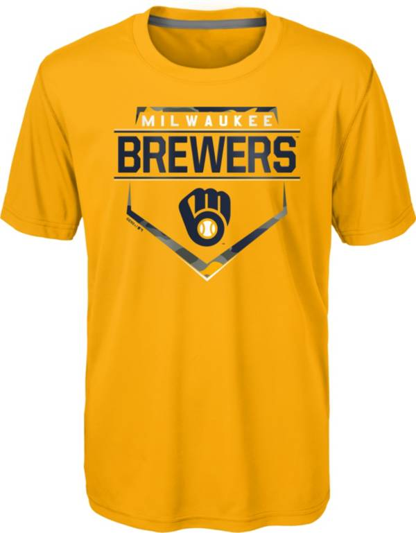 Gen2 Youth Milwaukee Brewers Gold Eat My Dust T-Shirt product image