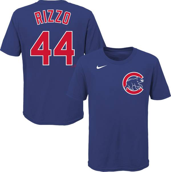 Nike Youth Chicago Cubs Anthony Rizzo #44 Blue T-Shirt product image