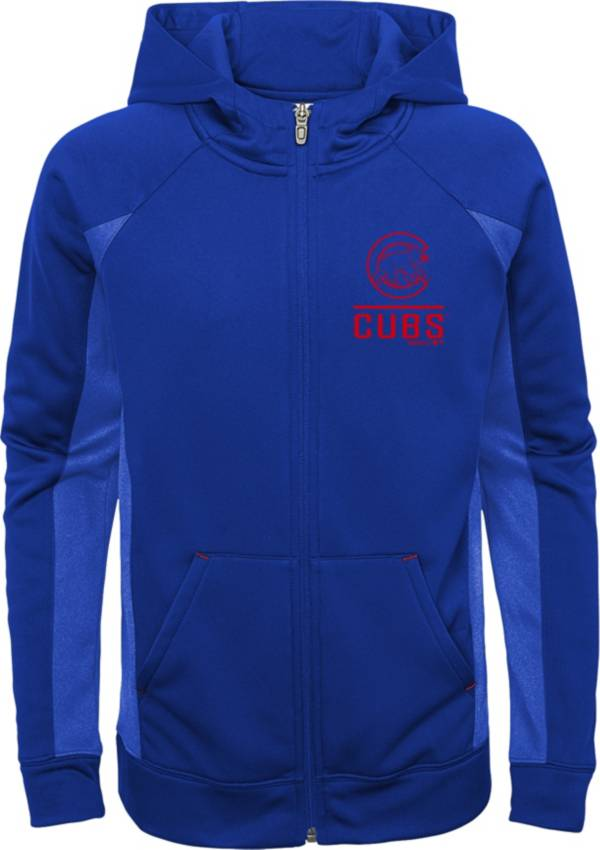 Gen2 Youth Chicago Cubs Royal No Glory Long Sleeve Full-Zip Jacket product image