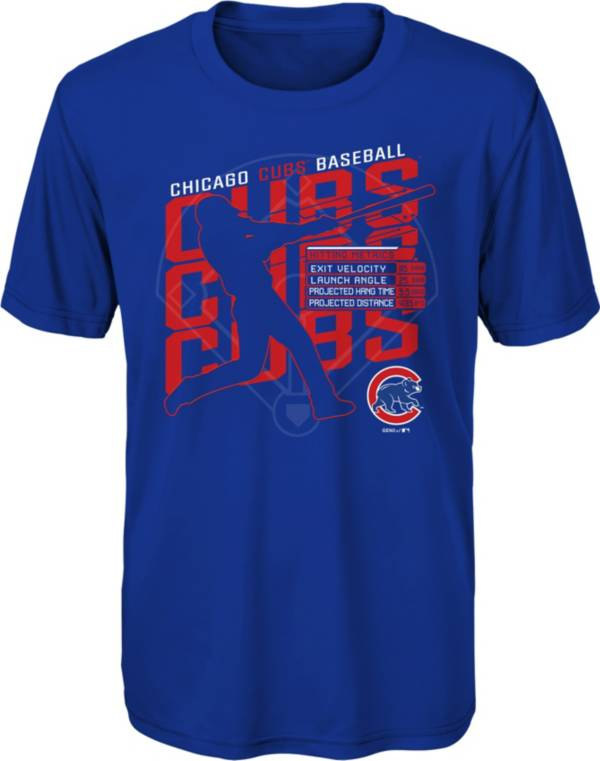 Gen2 Youth Chicago Cubs Royal Matrix T-Shirt product image