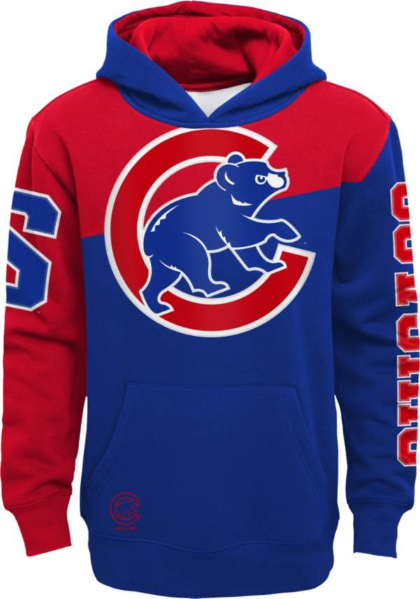 Outerstuff Youth Chicago Cubs Royal Slub Pullover Hoodie product image