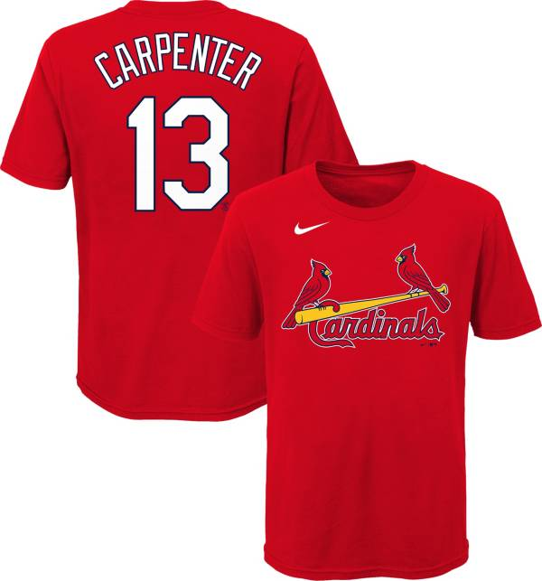 Nike Youth St. Louis Cardinals Matt Carpenter #13 Red T-Shirt product image