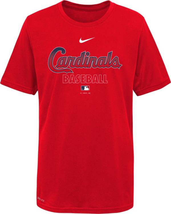 Nike Youth St. Louis Cardinals Red Dri-FIT Baseball T-Shirt product image