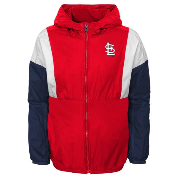 Gen2 Youth St. Louis Cardinals Red Long Sleeve Windbreaker Jacket product image