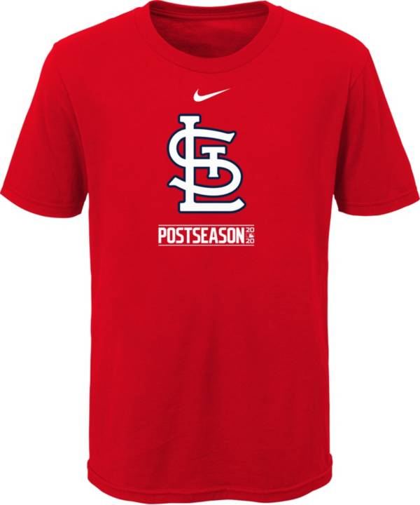 Nike Youth 2020 Postseason St. Louis Cardinals Red T-Shirt product image