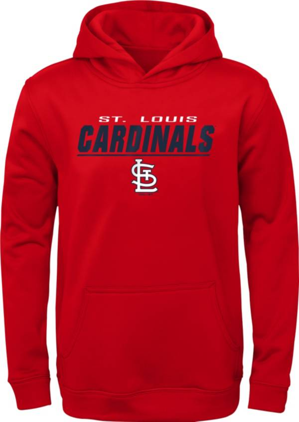 Gen2 Youth St. Louis Cardinals Static Red Pullover Hoodie product image