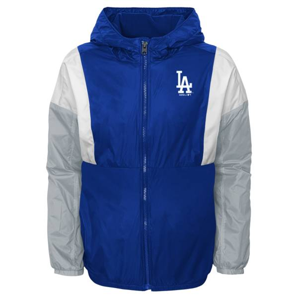 Gen2 Youth Los Angeles Dodgers Royal Long Sleeve Windbreaker Jacket product image