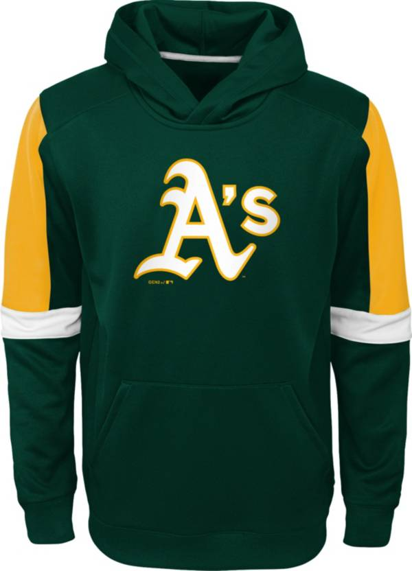 Gen2 Youth Oakland Athletics Green Base Up Pullover Hoodie product image