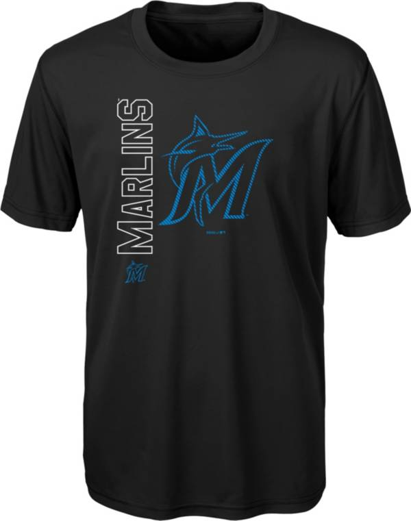 Gen2 Youth Miami Marlins Black 4-7 Double Header T-Shirt product image