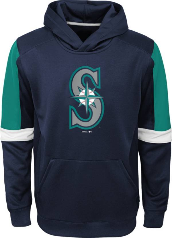 Gen2 Youth Seattle Mariners Navy Base Up Pullover Hoodie product image