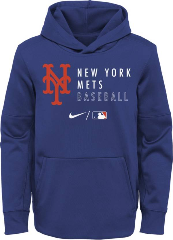 Outerstuff Youth New York Mets Blue Therma-FIT Hoodie product image
