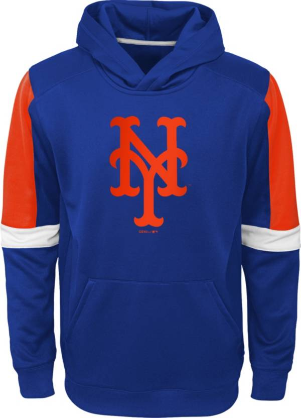 Gen2 Youth New York Mets Blue Base Up Pullover Hoodie product image