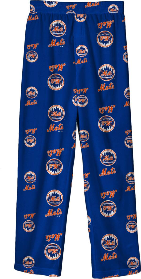Outerstuff Youth New York Mets Royal Blue Logo Print Sleep Pant product image