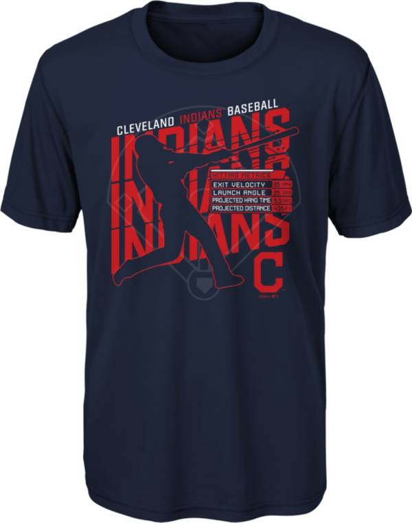 Gen2 Youth Cleveland Indians Navy Matrix T-Shirt product image